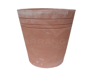 Tall Lined Pot