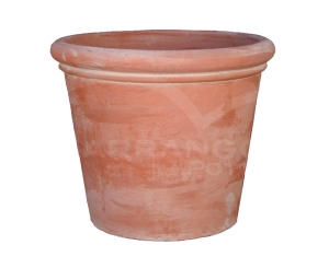 Rolled Rim Plain Pot